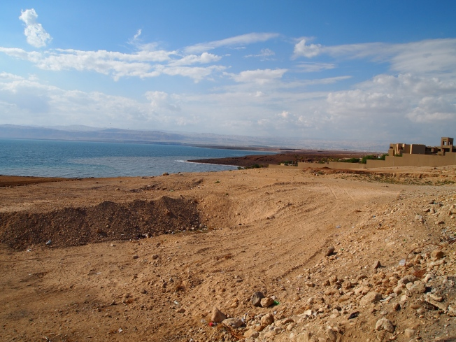 first view of the Dead Sea