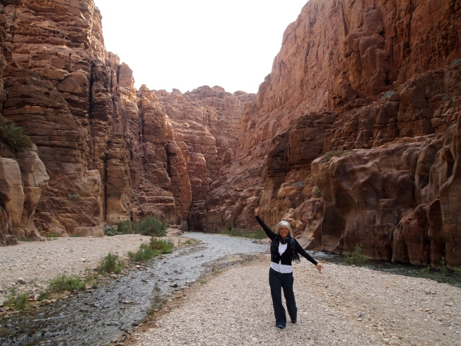Me in the Wadi Mujib Nature Reserve