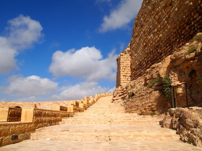 steps at Karak Castle