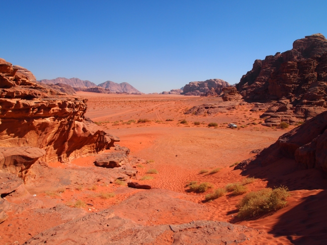 the red wadi rum