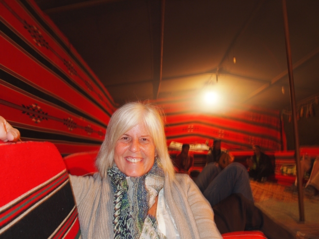 me at Seven Wonders Bedouin Camp