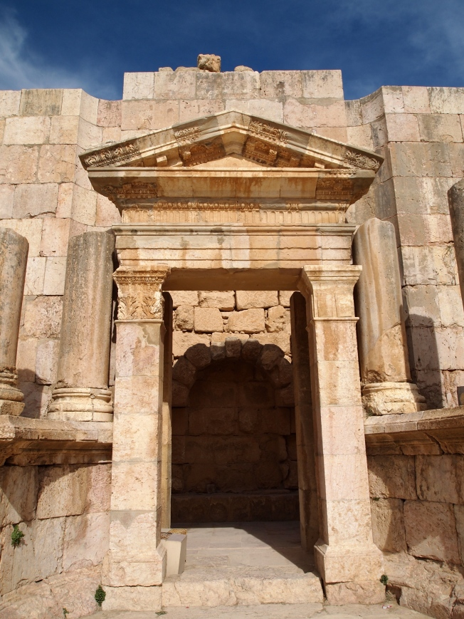 Doorway at Jerash