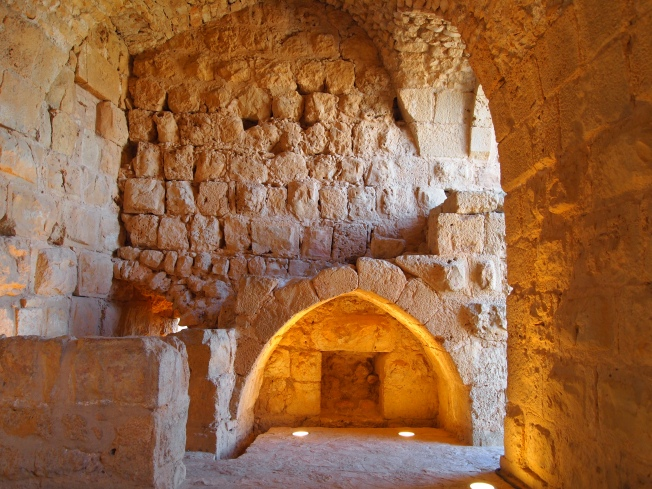 Inside Ajloun Castle
